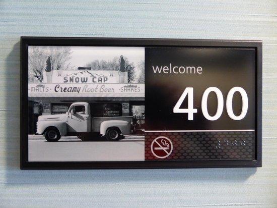 Hampton Inn & Suites Manteca: Room 400 - loved it!