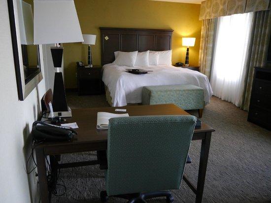 Hampton Inn & Suites Manteca: Lovely, clean & spacious King Suite