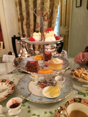 Middleton Post Office Tea Parlour : Afternoon Tea