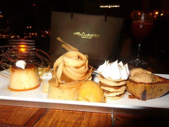 Asado: The Home Made Argentine Dessert Plate