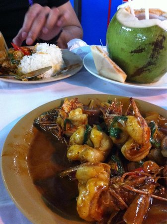 99 Seafood: The 2nd prawn dish, cooked well