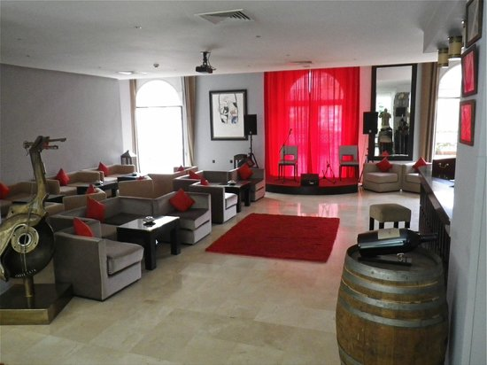Opera Plaza Hotel: Entertainment room