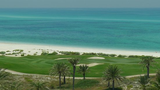 The St. Regis Saadiyat Island Resort: beach view