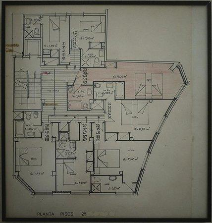 هوتل كوندال: план этажа... закрашенный - 203
