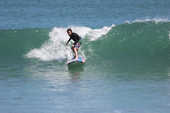 EP's Bali Surf: William 8yo