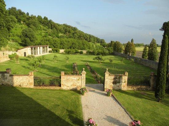 Castello di Lispida: vista dalla camera del re
