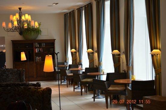 Hotel Kong Arthur : в коридорах отеля