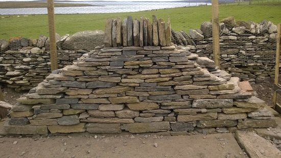 Quoy of Houton : Our finished wall