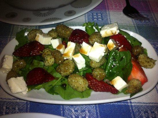 Eski Ev: Skøn salat.