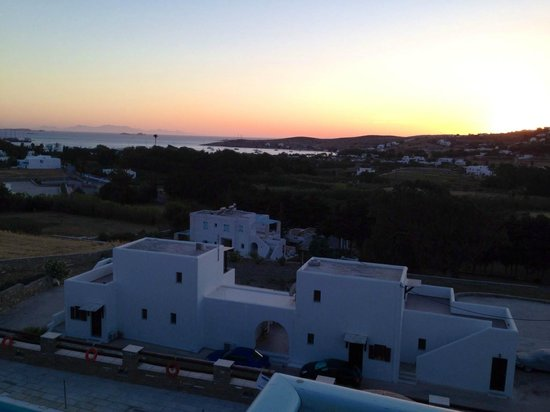 Pyrgaki Hotel: Sunset