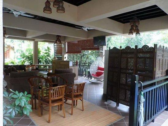 Tanah Aina Farrah Soraya Resort : The reception area