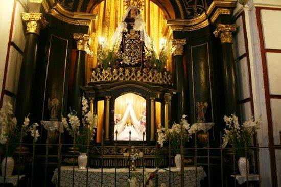 Iglesia y Convento de San Francisco: внутри собора
