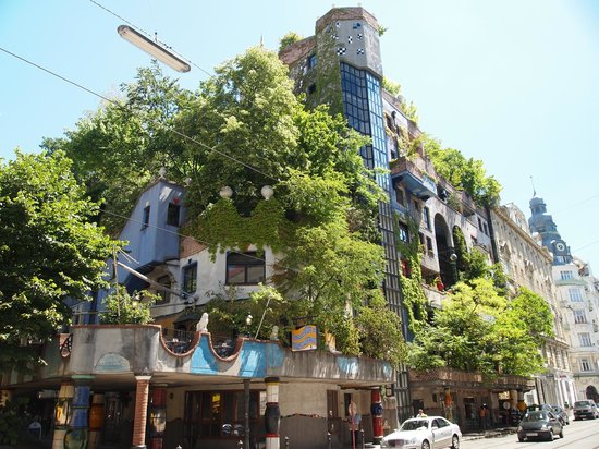 Hundertwasserhaus: Дом Хундертвассера