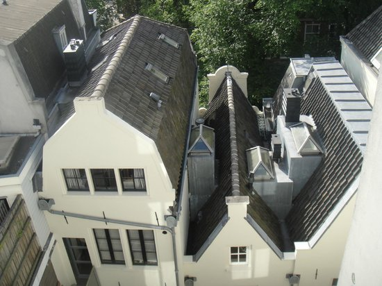 Radisson Blu Hotel, Amsterdam: Aussicht aus dem Zimmer