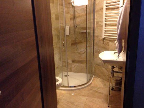Golden Tulip Krakow City Center Hotel: Spacious bathroom big shower, room 123