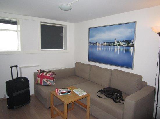 Stay Apartments Grettisgata : Wohnecke