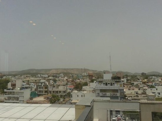 Four Points by Sheraton Jaipur, City Square: view from lobby window