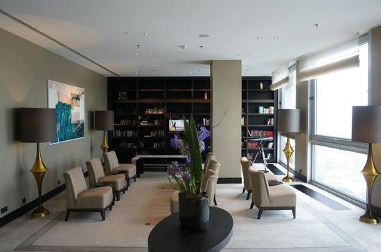 InterContinental Bucharest : The lounge.