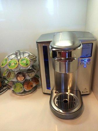 Hyatt Residence Club Sarasota, Siesta Key Beach : K-cups !