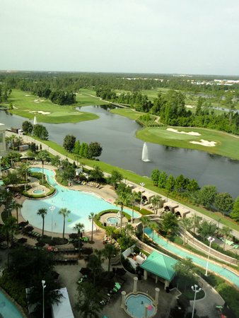 Hilton Orlando Bonnet Creek: Nice view from the room