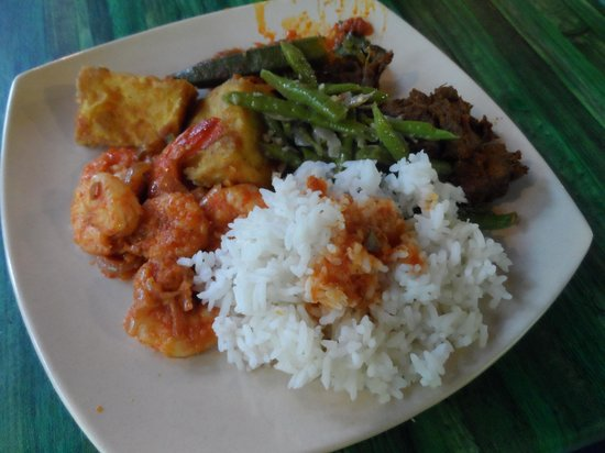 Tanah Aina Farrah Soraya Resort : Meals were mostly a local fare and super yummy!