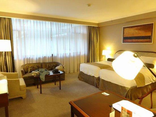 Marco Polo Hongkong Hotel : 部屋1