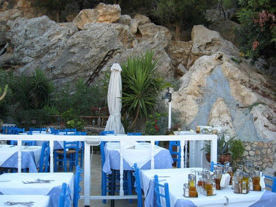 Mythos All Day Restaurant: Up on the roof.