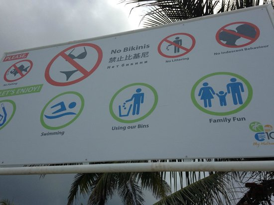 Hotel UI Inn: Muslim country strict