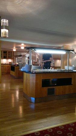 Sanner Hotell: Spisesal
