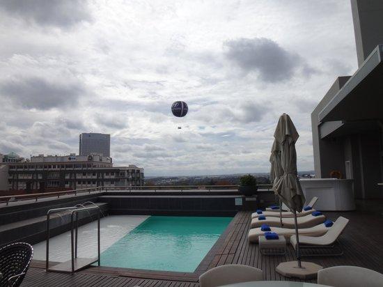 Radisson Blu Hotel Sandton, Johannesburg: Вид с терассы