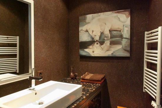 La Bergerie Du Miravidi: Salle de bain rdc