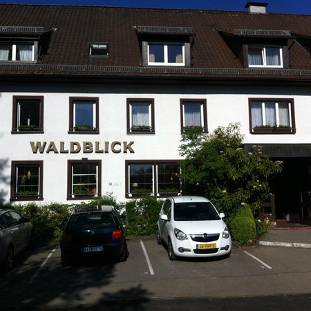 Waldblick Hotel: view from the front