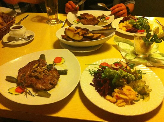 Waldblick Hotel: evening meal