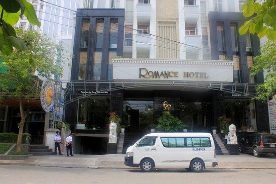Romance Hotel: Entrée du Romance
