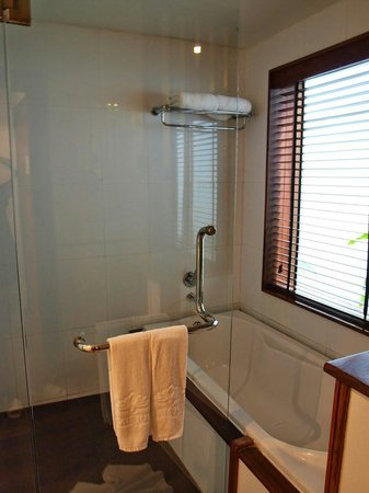 Le Palais Juliana: pleasant bathroom and shower room