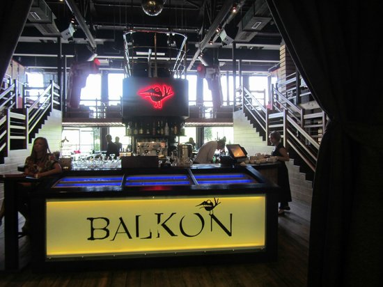 Comes into its own in summer - review of balkon, ryazan, rus.