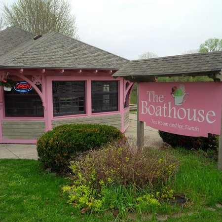 The Boathouse: View from Gordon St.