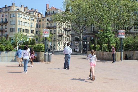 Place Bellecour : Acesso fácil para Bellecour