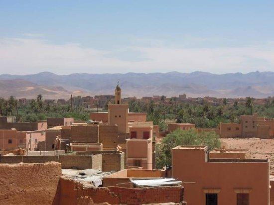 Hotel Tomboctou: uitzicht vanaf dakterras