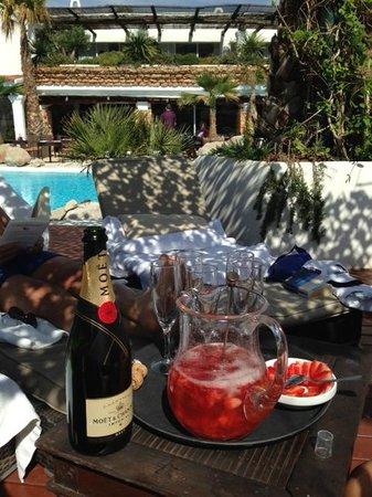 Hacienda Na Xamena, Ibiza : apéro