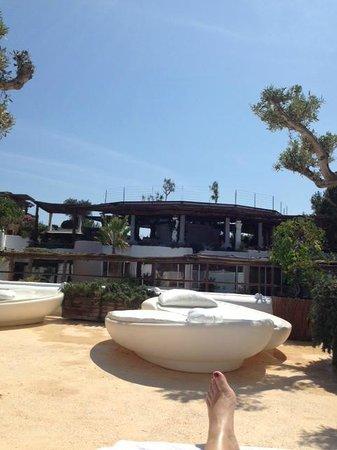 Hacienda Na Xamena, Ibiza : siesta
