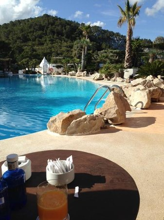 Hacienda Na Xamena, Ibiza : détente