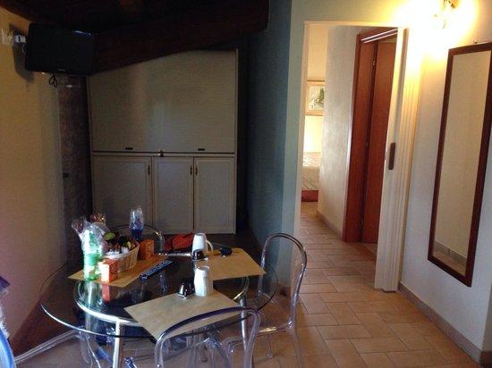 Hotel Residence Diamantina: Area giorno del monolocale