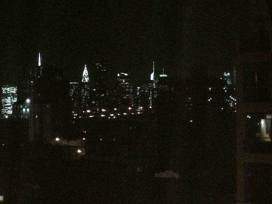 Holiday Inn L.I. City - Manhattan View: Aussicht Lower Manhattan