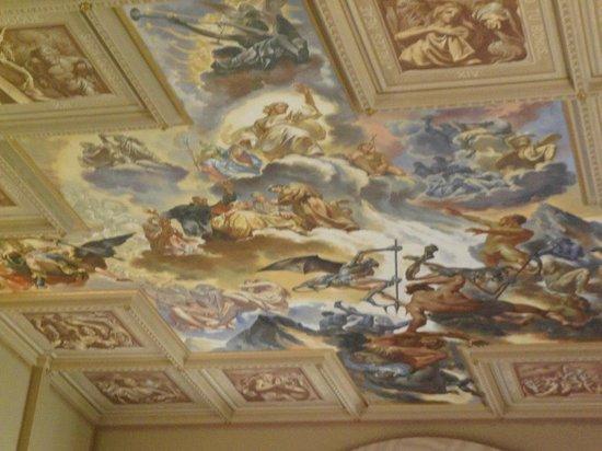 Sao Pellegrino Church: Pintura do Juízo Final Por Aldo Locatelli