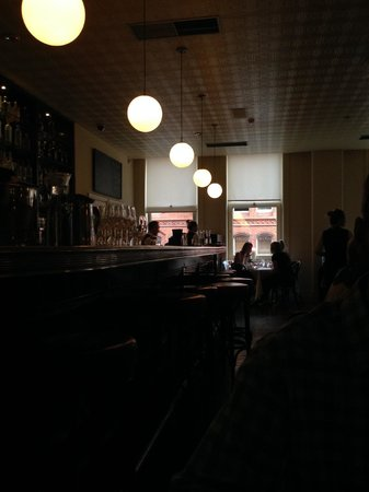 View of the bar at Fallon & Byrne