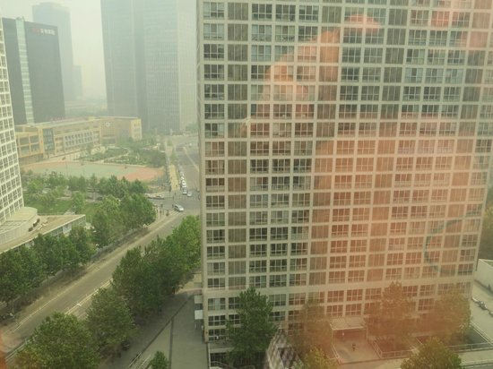 Fairmont Beijing: View from the room