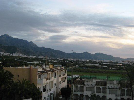 Marinas de Nerja Aparthotel : Looking towards Nerja