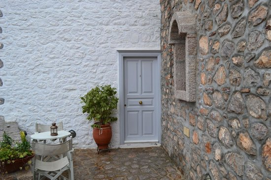 Nereids Guest House : entrance to our room. very cute.