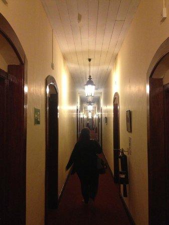 The Hill Club: The long corridor